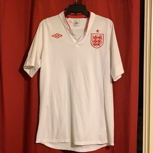 England Soccer 2012 Home Jersey